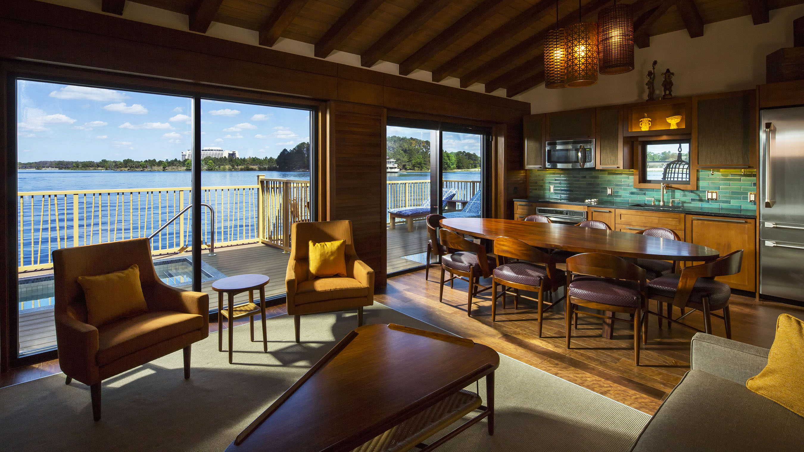 orlando hotels with full kitchen portable outdoor photo tour of the bora bungalows at disney's ...