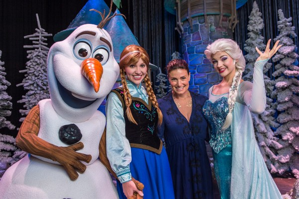 Frozen Idina Menzel Walt Disney World Resort