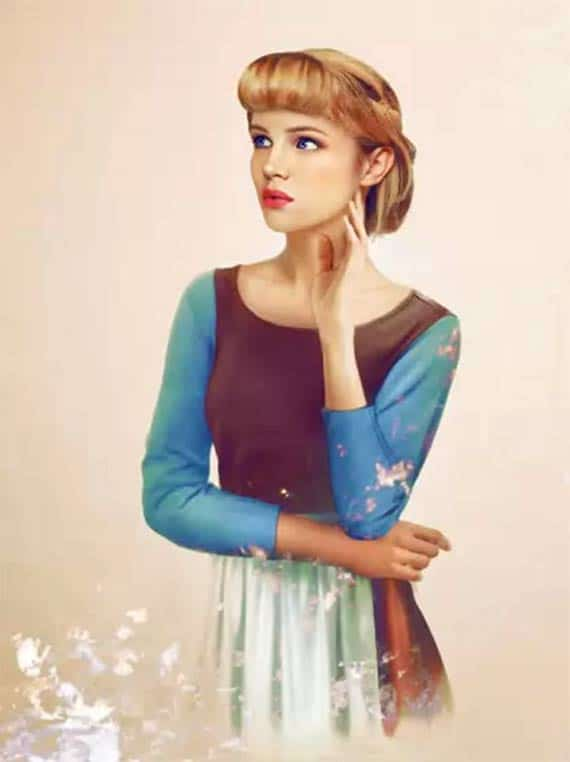 What Disney Heroines Would Look Like In Real Life Cinderella