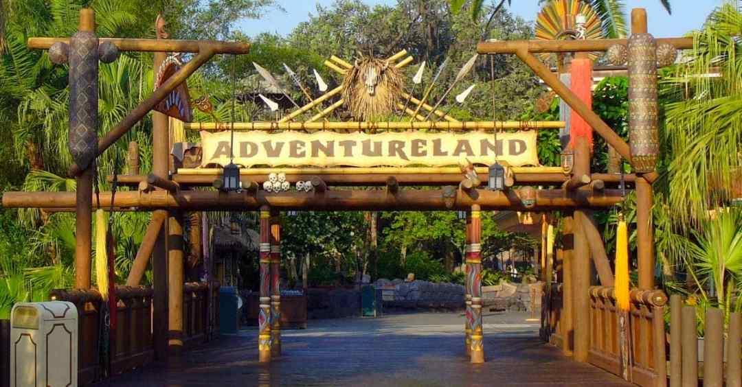 Adventureland Sign