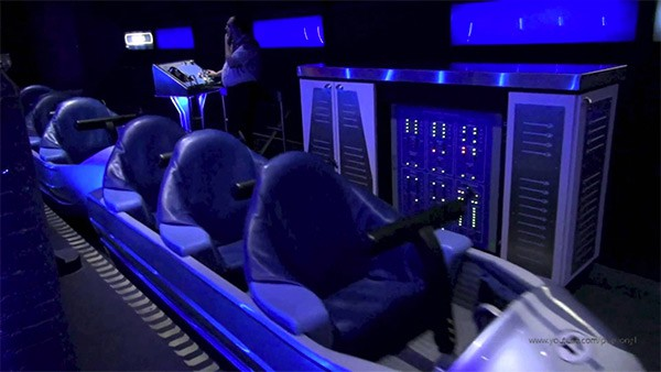 Image result for space mountain ride walt disney world