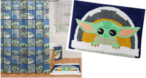 baby yoda themed bathroom is just what