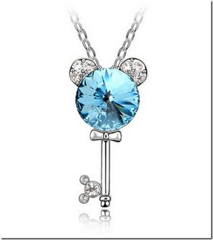 2015-01-13 03_33_41-Amazon.com_ Silver Swarovski Elements Crystal Diamond Accent Disney Key Pendant