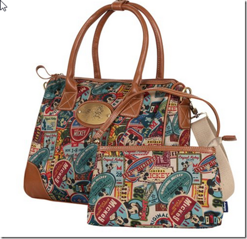2015-03-08 11_19_38-Disney Vintage Mickey Pattern Top Handle Satchel Bag With Mini Purse Pouch(bag-0