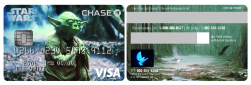 Yoda Disney Visa Card