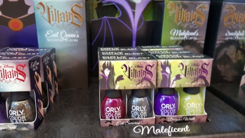 disney vaillain nail polish orly