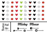 Disney Discovery- Disney Nail Decals