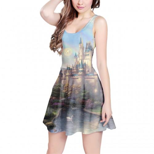 RainbowRules Castle Dress