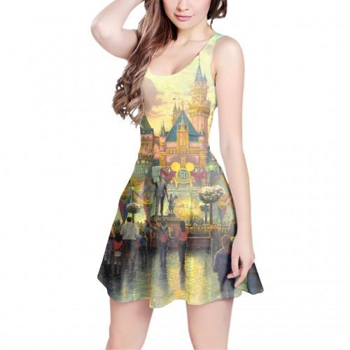 RainbowRules Disneyland Dress
