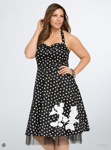 Torrid Disney Mickey Collection Retro Swing Dress