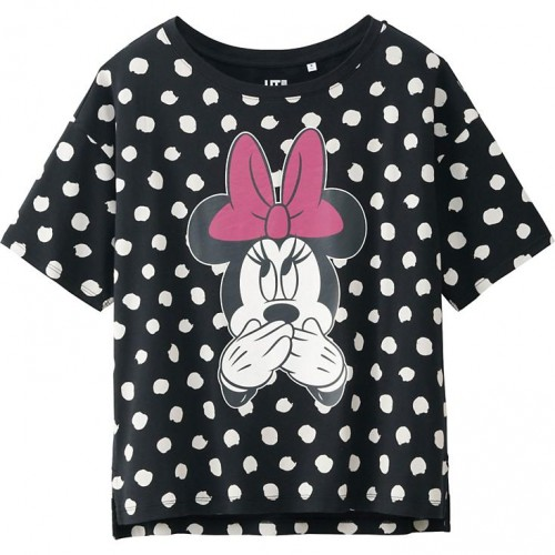 Uniqlo Minnie Mouse Short Sleeve Graphic T-Shirt