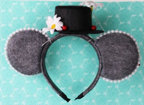 Mary Poppins Mouse Ears Back