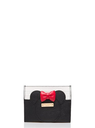 New additions to kate spade minnie mouse collection now available this is a minnie mouse card holder for only 58 i am not sure if it intended for credit cards or business cards but i see colourmoves