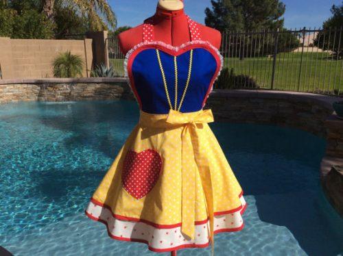 Snow White Sassy Apron