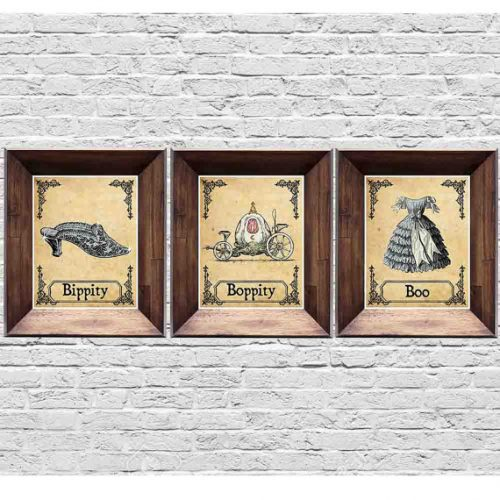 vintage-disney-cinderella-prints
