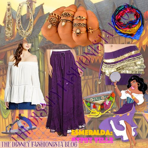 esmeralda disneybound