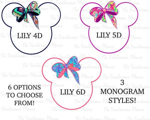 mongram minnie mouse 2