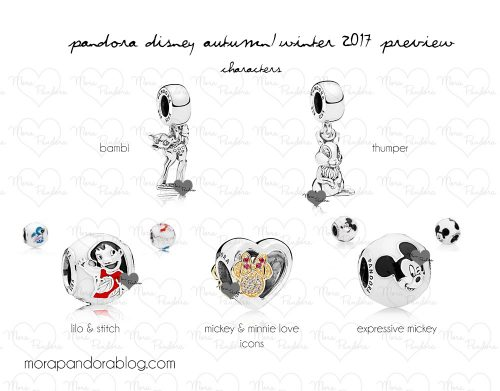 47e5914ae ... the Pandora Disney Autumn/Winter 2017 sneak peek (thanks to our  fabulous friend at Mora Pandora)? We now have the complete look including  the Limited ...