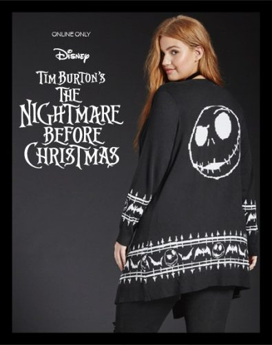 The Nightmare Before Christmas Torrid Collection