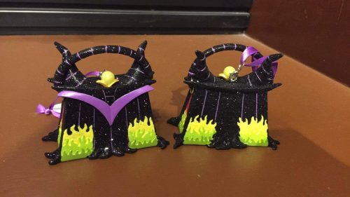 maleficent handbag ornament