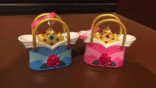 sleeping beauty handbag ornament
