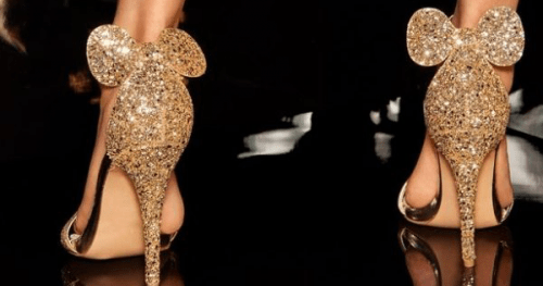 Glitter Minnie Inspired Heels