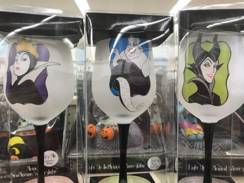 Disney Villains Wine Glasses
