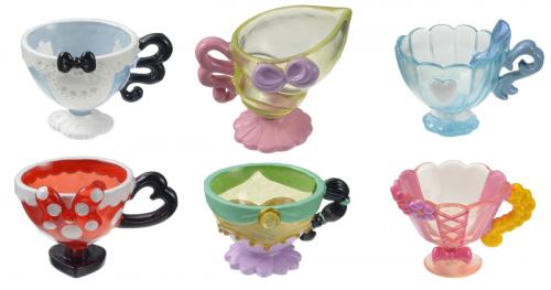 Disney Character Teacup Figures