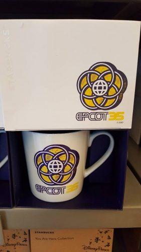 Epcot 35th Anniversary Starbucks Mug
