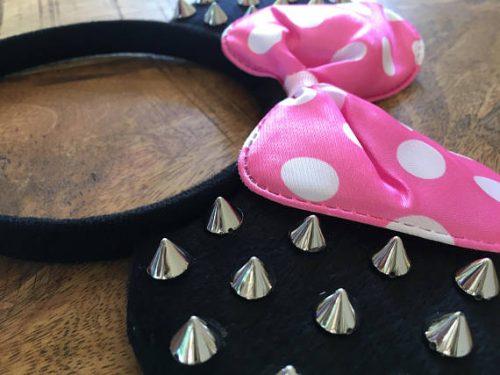 Spiky Minnie Mouse Ears