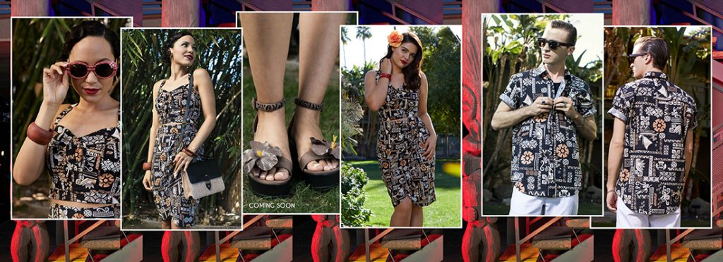 ce3e0925b4b The sea is calling you because you look so amazing in the retro Moana  styles from Her Universe. The black print from Moana features a  Polynesian-inspired ...