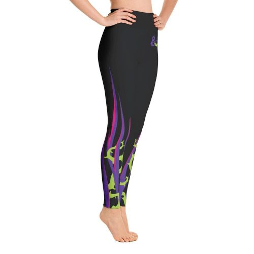 Channel The Mistress of All Evil with These Maleficent Leggings