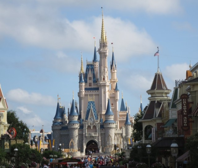 The Castle At Magic Kingdom Disney World Orlando Florida