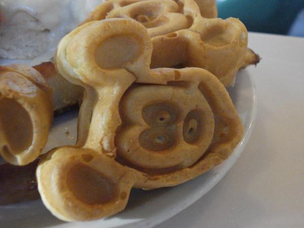 Disney Mickey Mouse Waffles