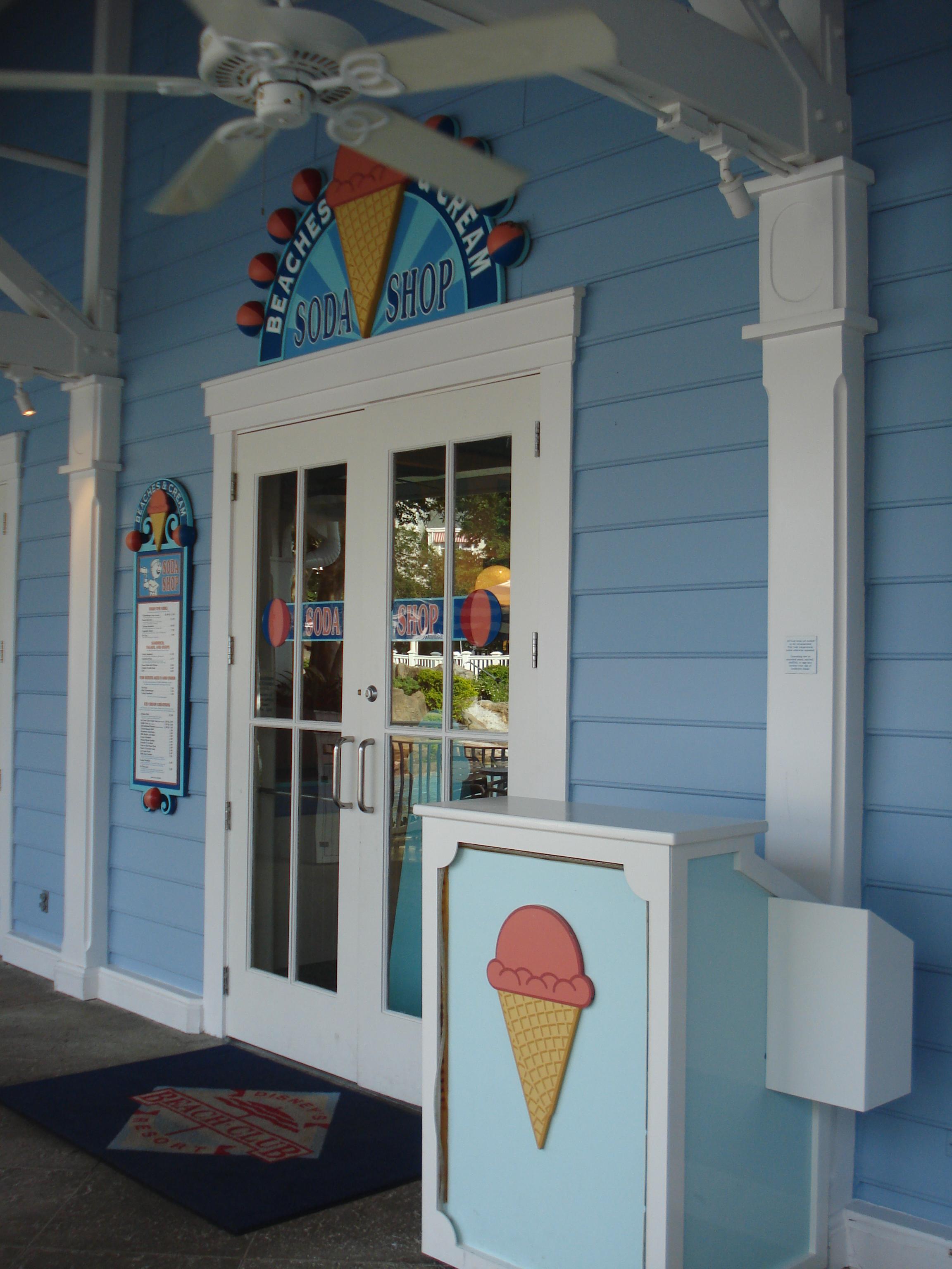 Disney Beaches and Cream Soda Shop