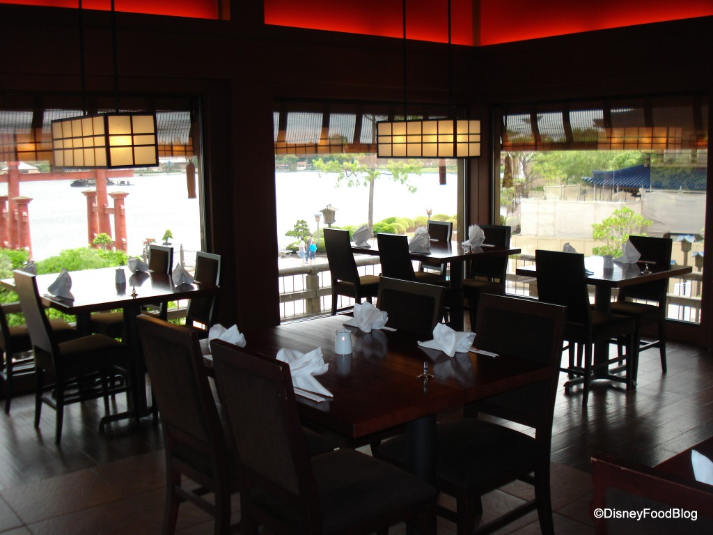 Image result for epcot japanese restaurant