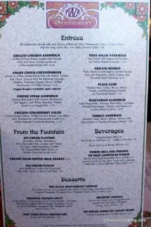 Plaza Restaurant Magic Kingdom