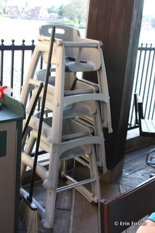 high chair restaurant metal dining chairs industrial disney food for families the situation ready guests to grab at epcot s la cantina de san angel