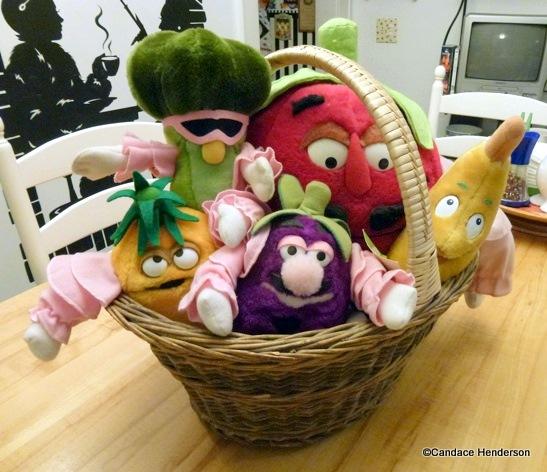 Disney Food History Kitchen Kabaret Plush Toys on Display