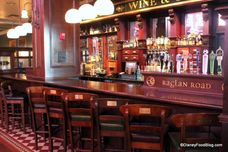 Review Lunch at Raglan Road Irish Pub  the disney food blog