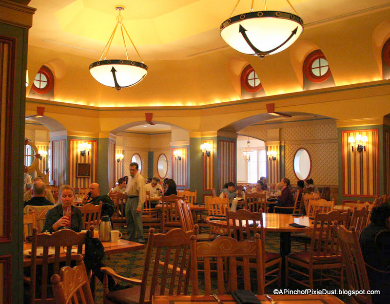 boat captain chairs graco high chair cover replacement guest review: captain's grille breakfast buffet at disney's yacht club resort | the disney food blog
