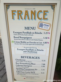 France 2013 Epcot Food And Wine Festival