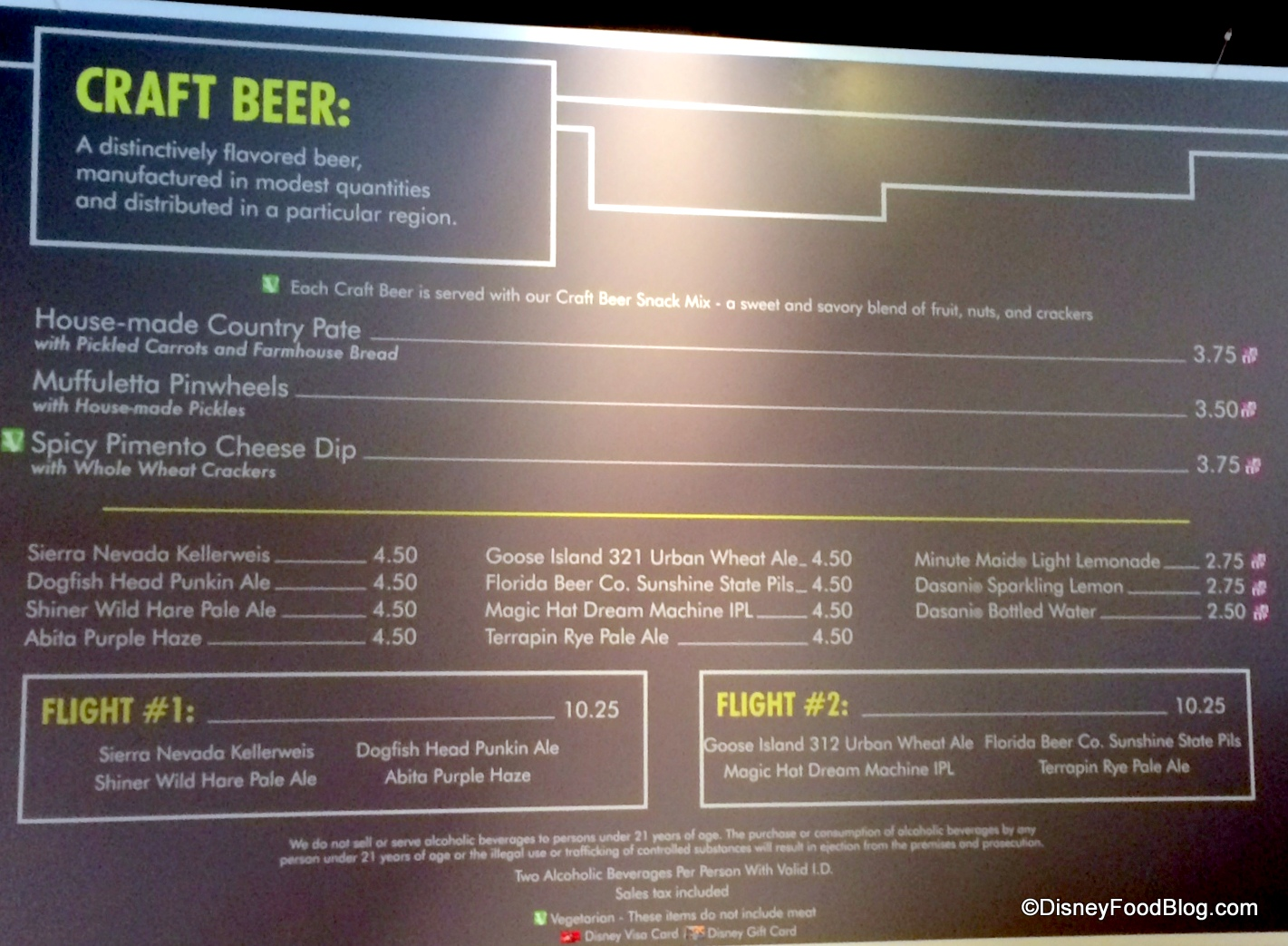 Craft Beers: 2014 Epcot Food and Wine Festival | the disney food blog