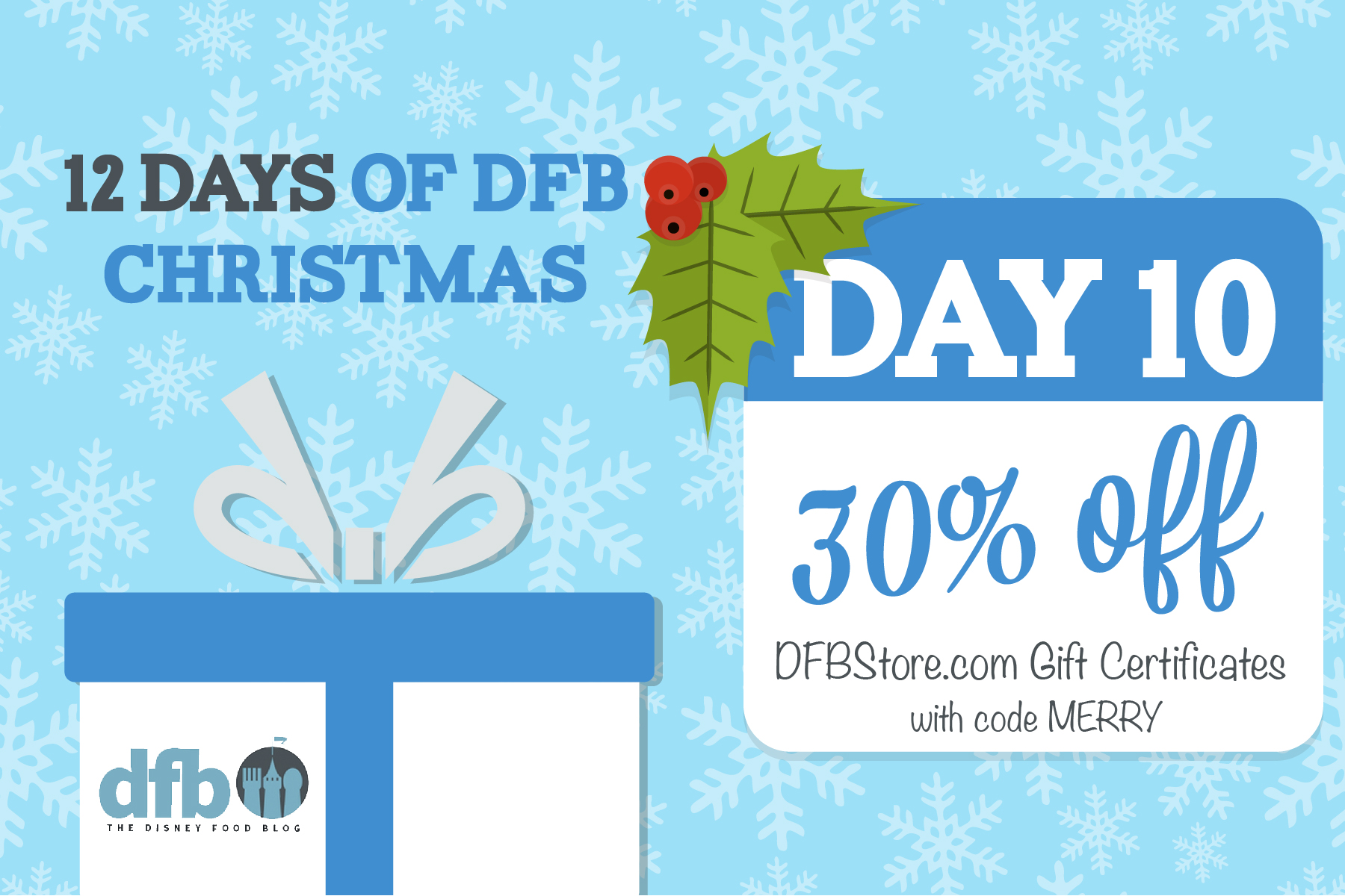 Dfb 12 Days Of Christmas Day 10