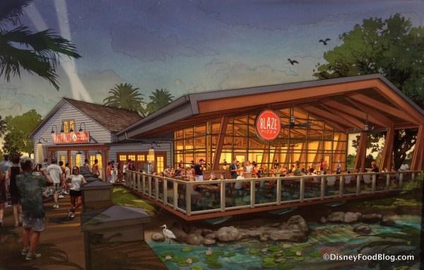 Disney Springs Concept Blaze Pizza