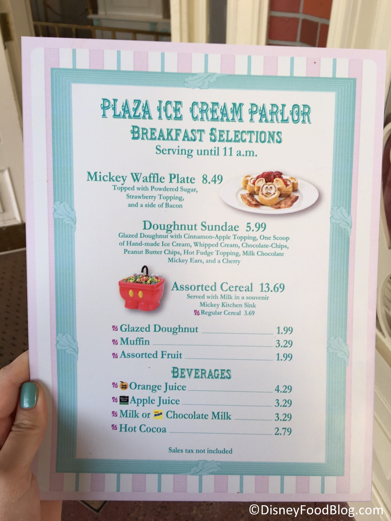 News New Breakfast Options Available at Disney Worlds