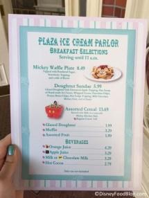 Breakfast Options Disney World