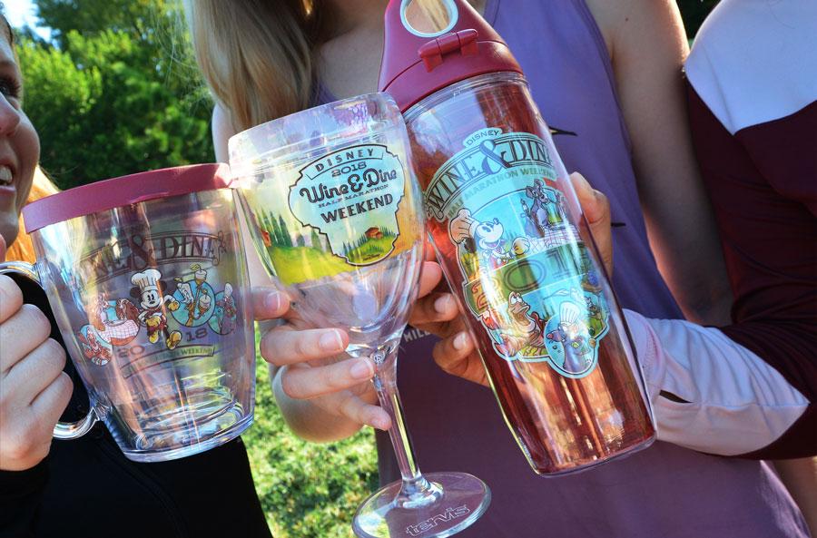 Preview: 2018 Disney Wine and Dine Half Marathon Weekend Merchandise