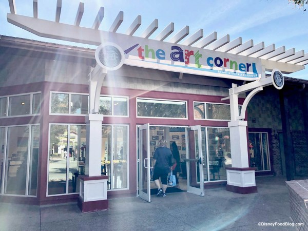 Art Corner Opens In Disney Springs Tour With
