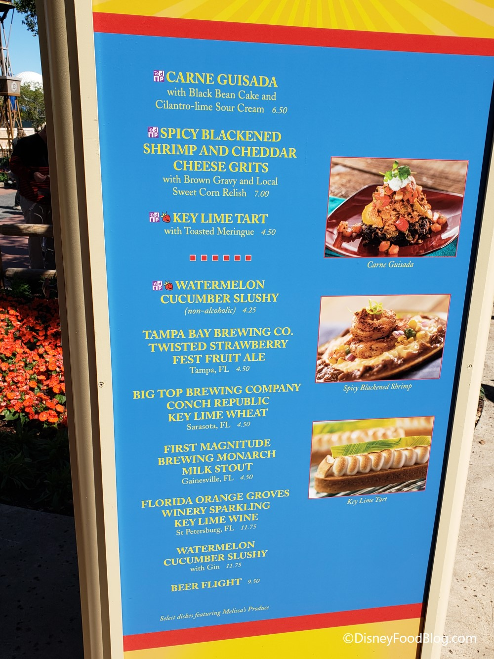 2019 Epcot Flower and Garden Festival  Florida Fresh